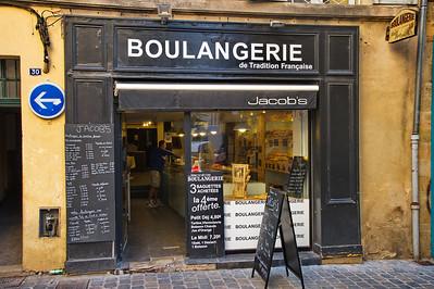 Jacob's Boulangerie in Aix en Provence old town