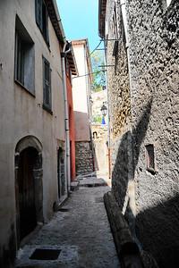 A narrow street in Coaraze