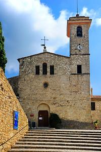 Coaraze church, it was locked.