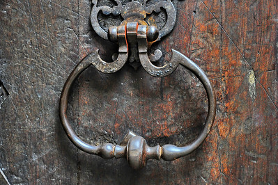 Entrevaux door knocker