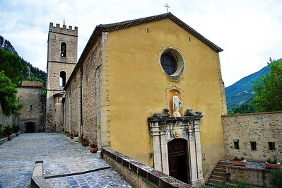 Church in Entrevaux