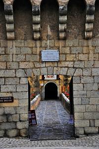 Porte Royal, entrance to Entrevaux