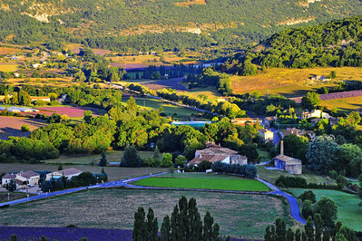 Lavender farm and mill