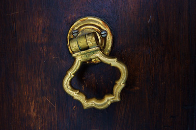 Coursegoules door knocker