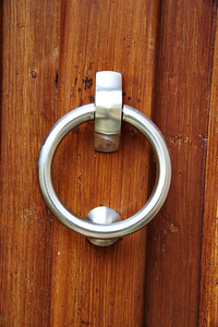 modern door knocker