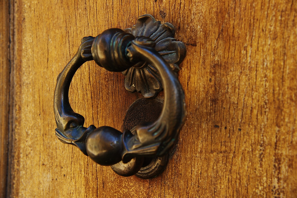 Maltese Dolphin Solid Brass Door Knocker
