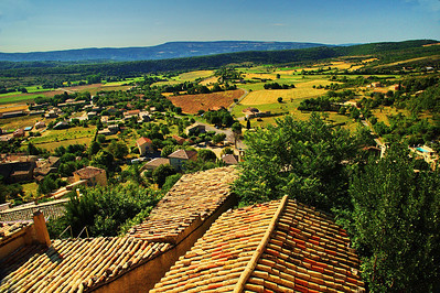 St Saturnin les Apt viewpoint