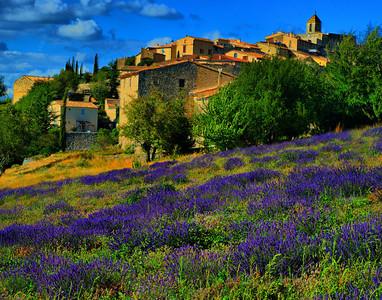 Lavender Routes of Provence (Les Routes de la Lavande) July 2011:  In Search of Lavender, Sunflowers, and Perched Villages