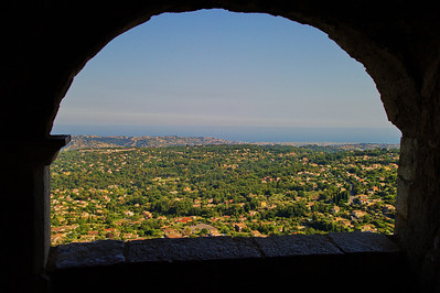 View of the Mediterranean from LeBroc