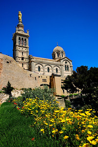 Marseille, France Notre Dame de la Garde