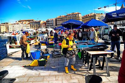Marseille, France Fish Market