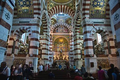 Marseille, France Notre Dame de la Garde Interior