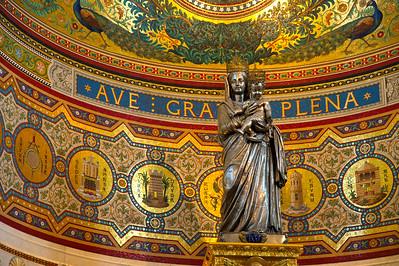 Marseille, France Notre Dame de la Garde, Mary and baby Jesus