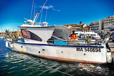 Marseille, France Fishing boat