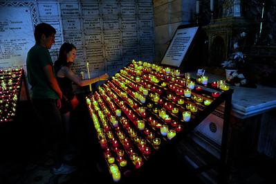 Marseille, France Notre Dame de la Garde, crypt