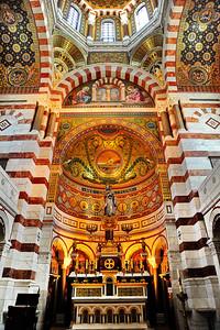 Marseille, France Notre Dame de la Garde, Altar