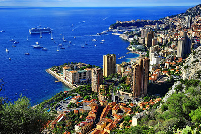 Monaco is a Principality.  Monte Carlo is the city.  It is the most expensive in the world to live in.