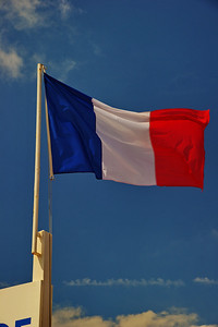 "French flag called the ""Tricolor"""