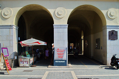 Nice market gate from the Med