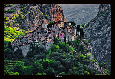 """One of the most """"perched"""" villages is Peillon.  You park just outside the village and walk into, down and around and up.  I'd like to go back to this one."""