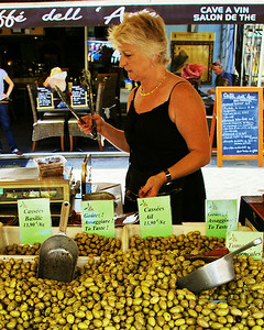 Nice, Olives for sale