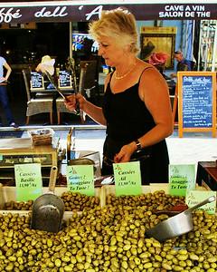 Nice, Olives for sale