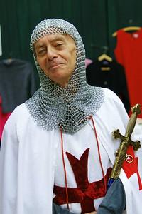 Entrevaux Knight Templar