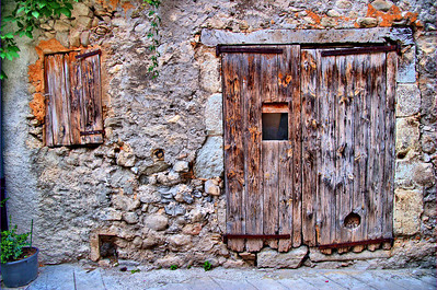 "Entrevaux ""Old Door"""