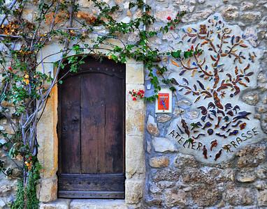 Old door in LeBroc