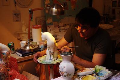 Moustiers Saint Marie artist Luis Bruno