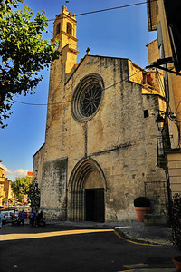 Forcalquier church