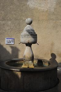 Village fountain