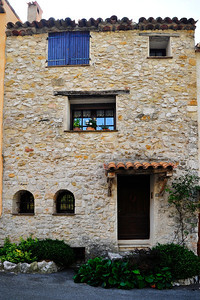 Typical residence in Greolieres
