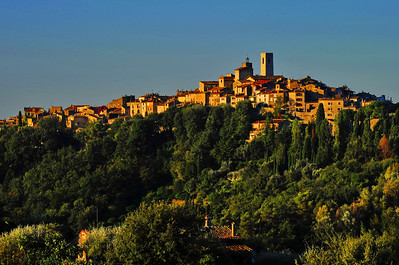 St. Paul de Vence in early morning light