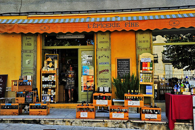 A wine store in Sault