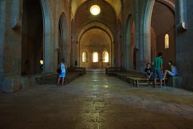 Thoronet Abbey:  Worship center
