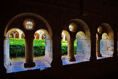 Two Cistercian Abbeys :   Abbaye de Thoronet  & Abbaye de Senanque