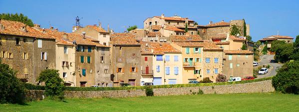 Tourtour village front side