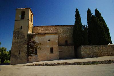 Tourtour's church