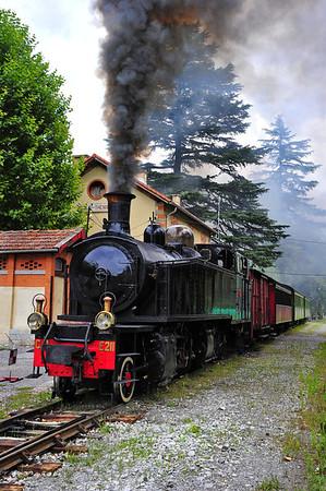 Puget-Theniers and the Train des Pignes