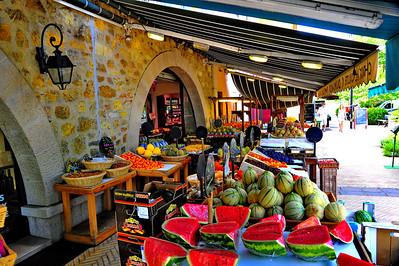 Valbonne fruit stand