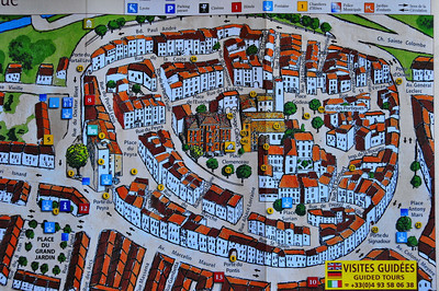 Vence visitors guide to the Old Town