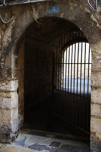 Vence old town gate