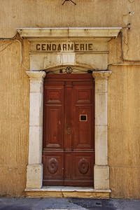 Gendarmerie door (old police station)