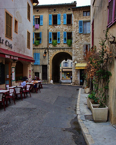 Vence old town