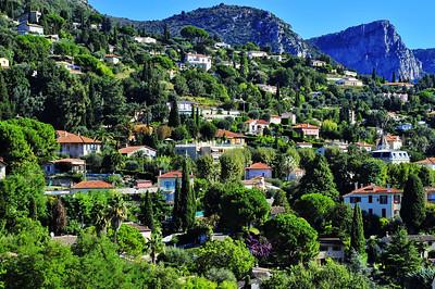 Vence hillside homes