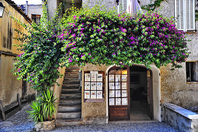 ville_de_Cagnes-sur-Mer_Flowers Over Door_HDR3326