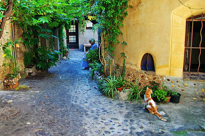 Cagnes_Medieval_Village_sitting-quietly_LAN3351