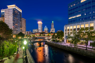 River Walk & Water place park, Providence, Rhode Island