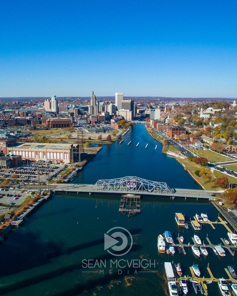Drone Aerial of Providence Rhode Island by Sean McVeigh Media